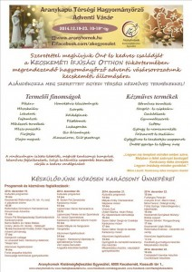 adventi_vasar2014_plakat_Kmét